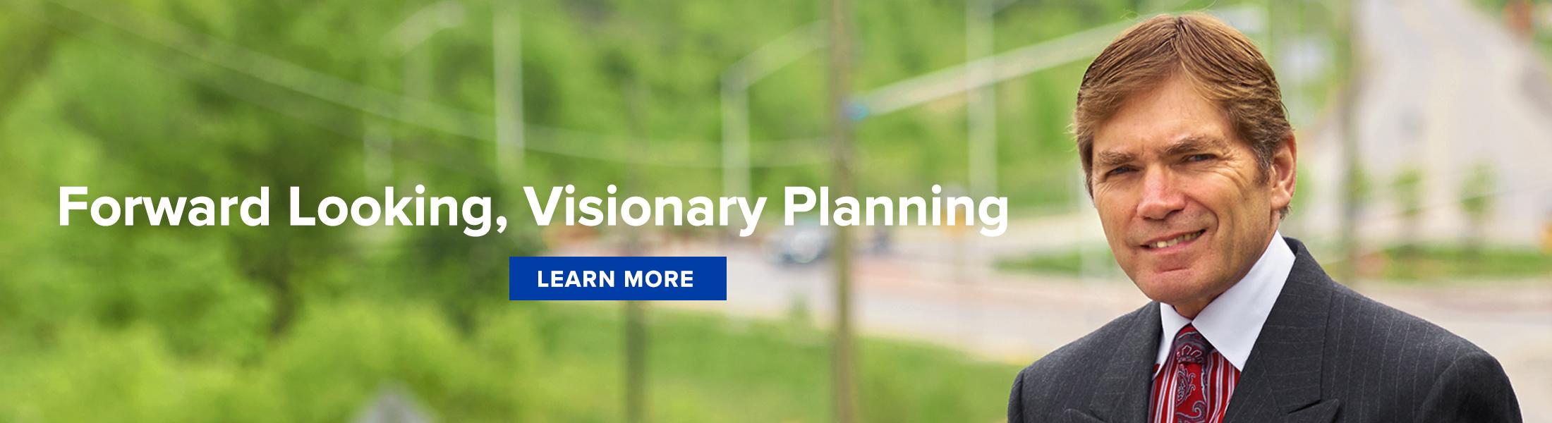 John Challinor Town of Milton Ward 2 Forward Looking, Visionary Planning
